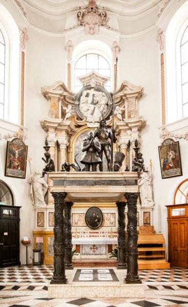Mausoleo di Massimiliano III di Austria - Duomo di San Giacomo di Innsbruck