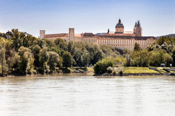 Melk - Abbazia sul fiume Danubio