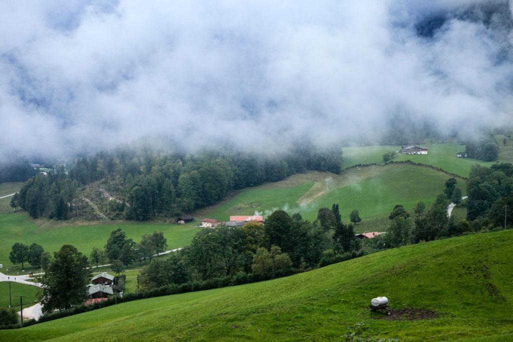 Montagne Verdi delle Alpi Austriache