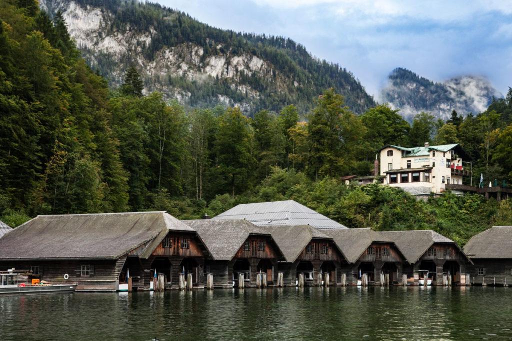 Monti e Lago Konigssee - Verso la chiesa di San Bartolomeo - Germania
