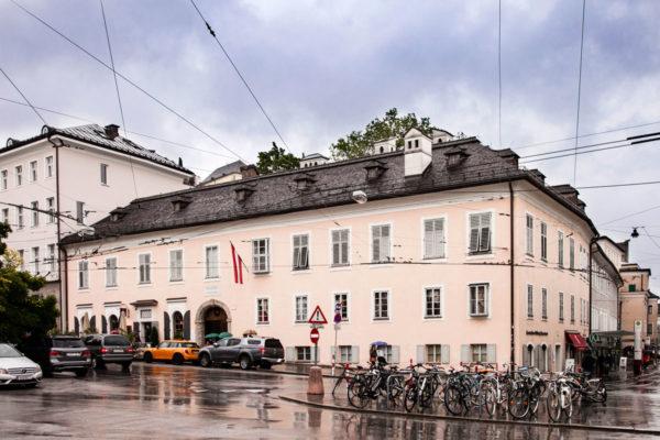 Mozart Wohnhaus - Residenza di Mozart città Nuova