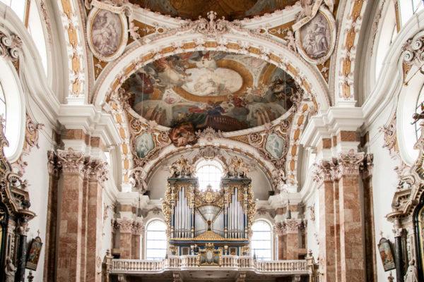 Organo nel duomo di San Giacomo - Innsbruck