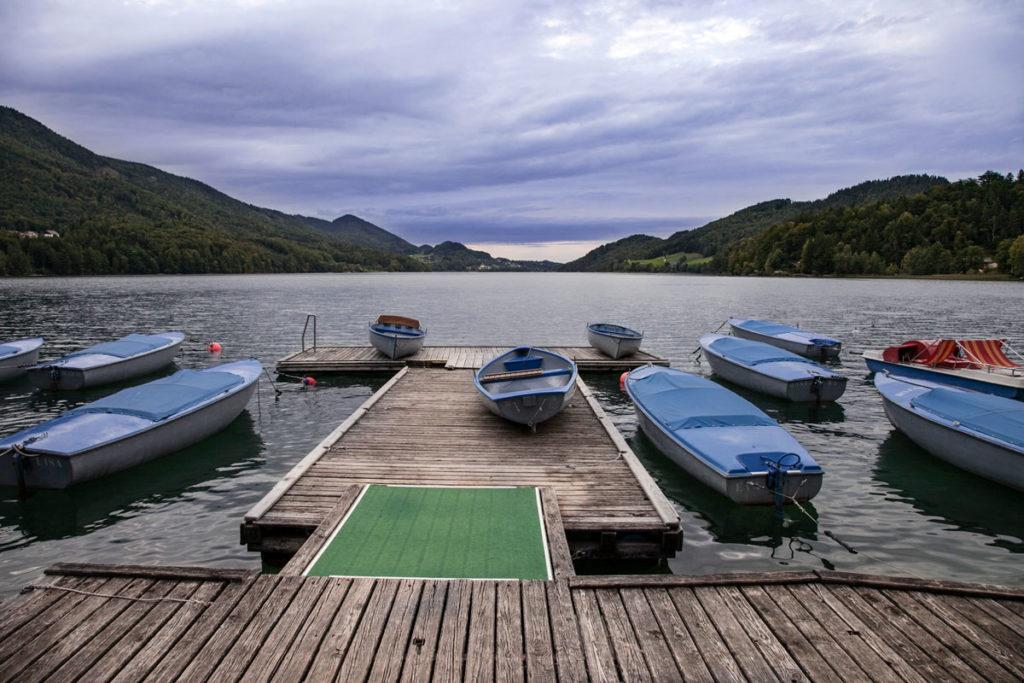 Passerelle con barche - Cosa vedere in Austria