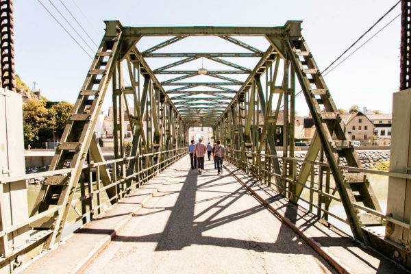 Ponte sul fiume Danubio