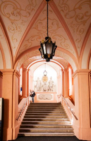 Porticato - Accesso alla visita degli Interni Abbazia di Melk