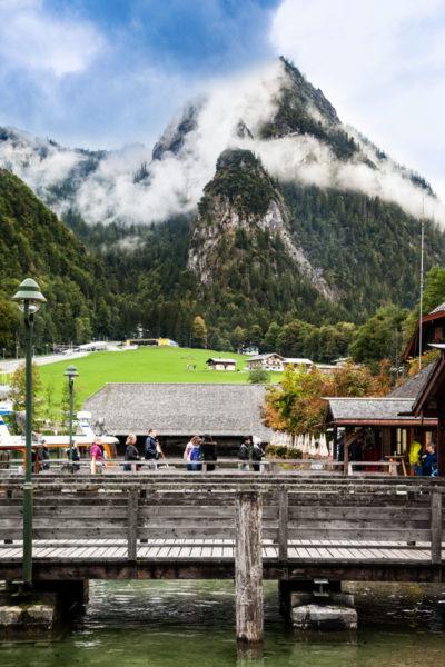 Porticcioli sul Konigssee - Lago della Baviera sulle Montagne