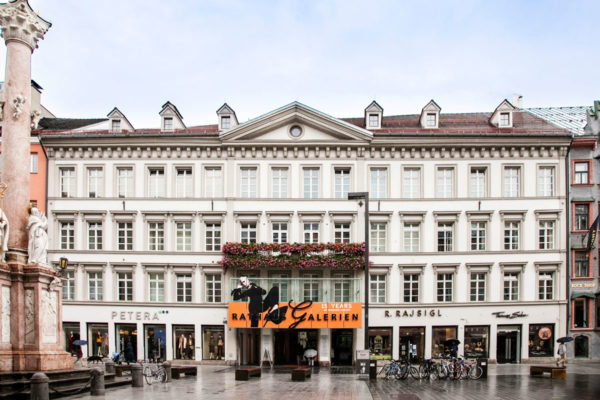 Rathaus Galerien - Rathaus Innsbruck