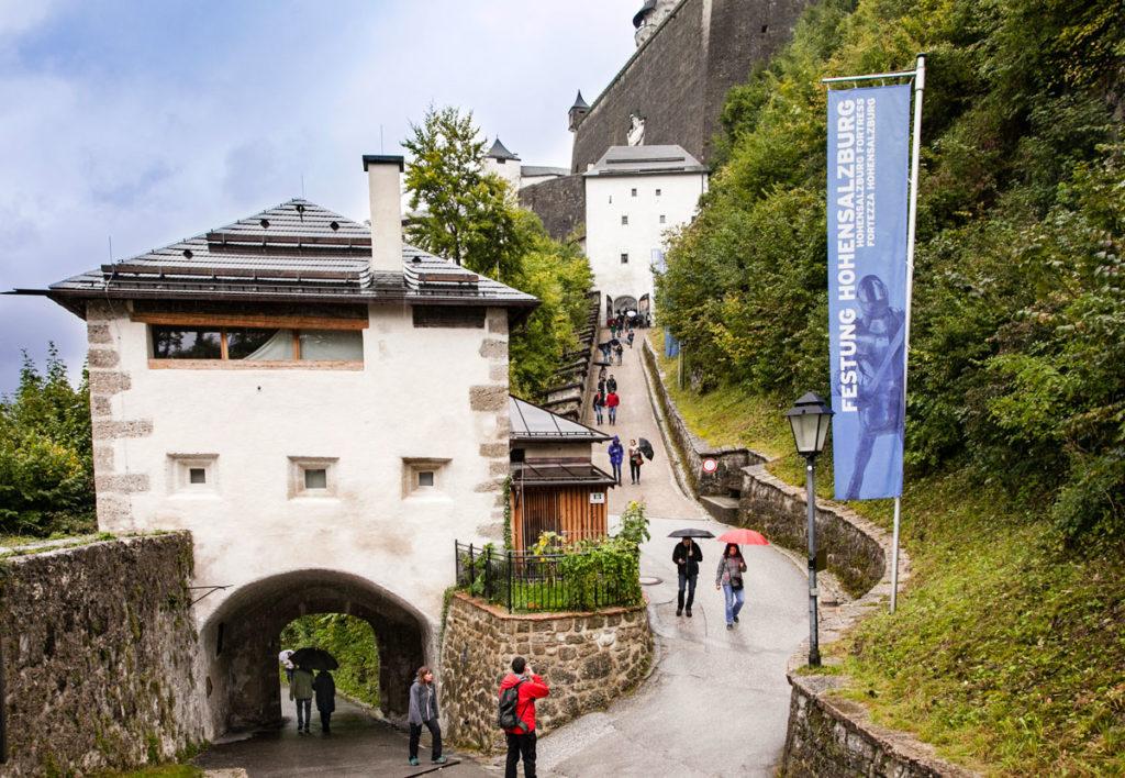 Salita alla Fortezza di Salisburgo