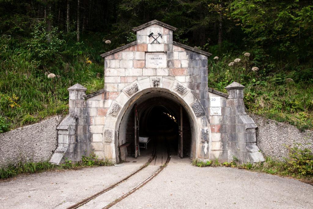 Santa Cristina - Ingresso alle miniere di Salzwelten