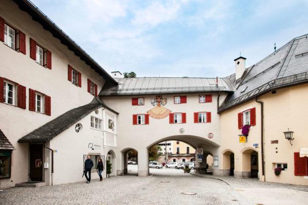 Schlossplatz - Ingresso nella città della Baviera Tedesca