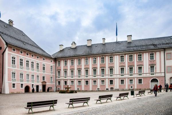 Schlossplatz e i suoi edifici storici
