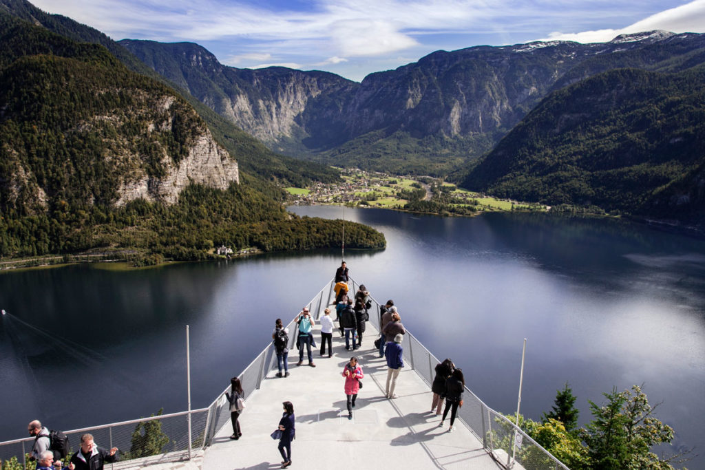 Skywalk - Panorama su hallstatt see