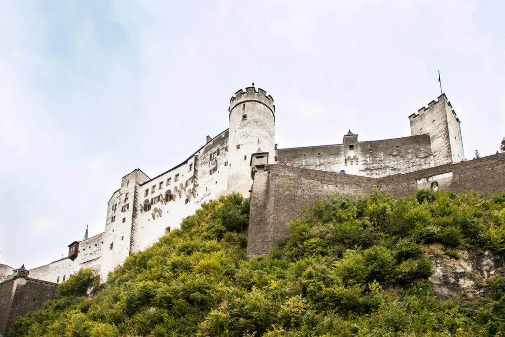 Sotto la Fortezza di Hohensalzburg
