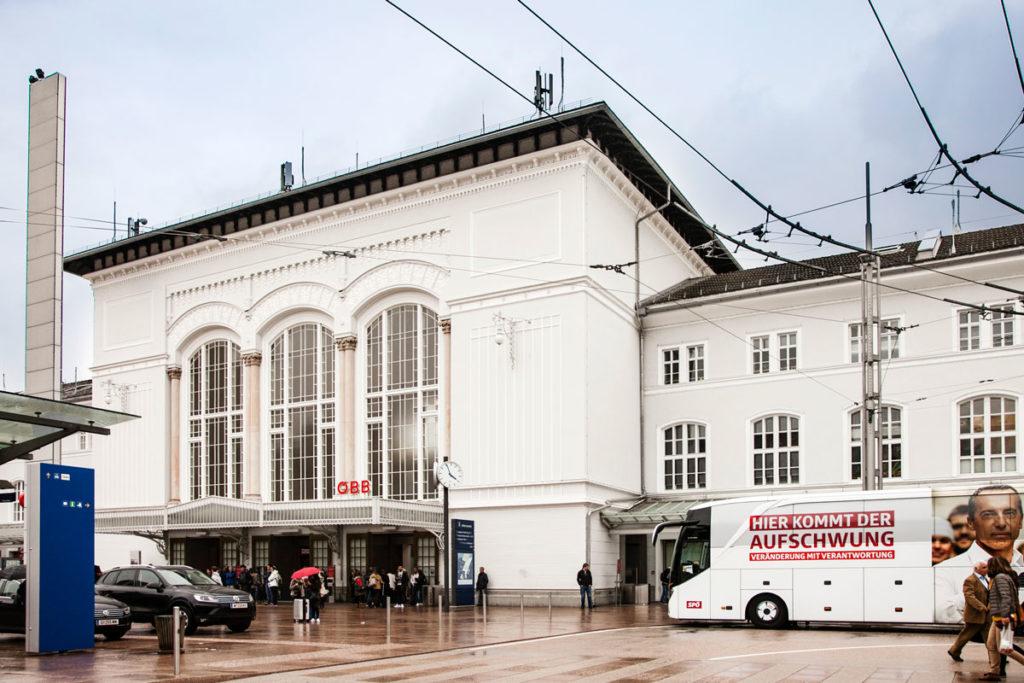 Stazione ferroviaria di Salisburgo