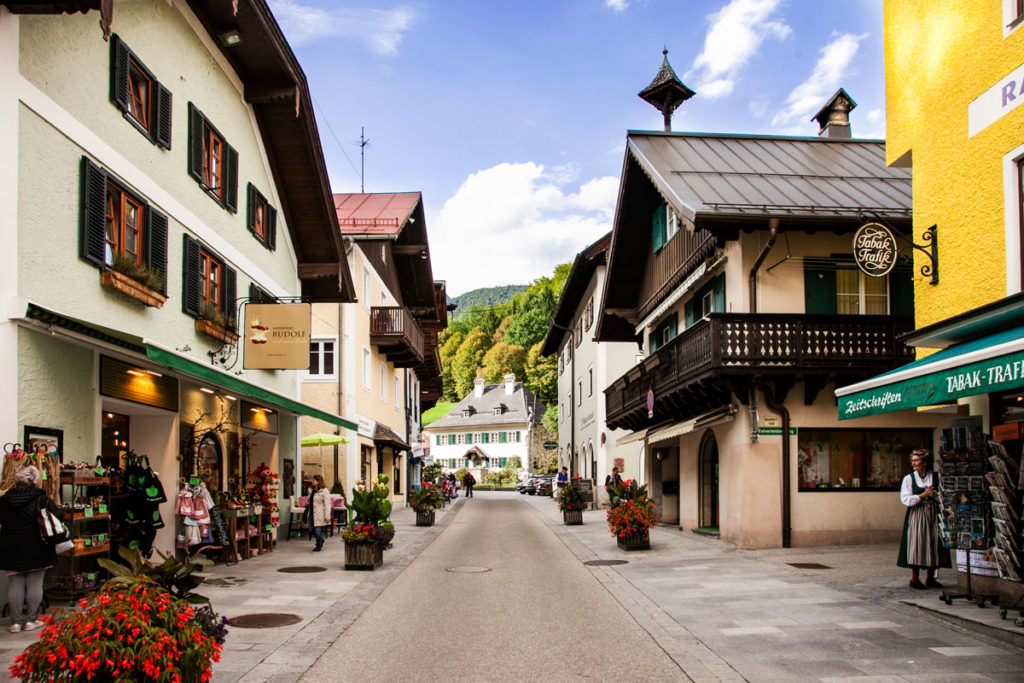 Strada dello Shopping - Markt
