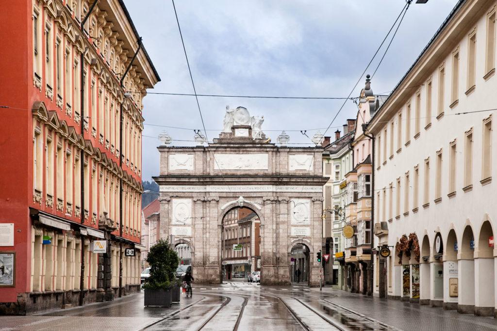 Triumphpforte - Arco del Trionfo di Innsbruck
