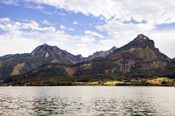 Wolfgangsee - Montagne sul Lago - Regione dei Laghi Austriaci