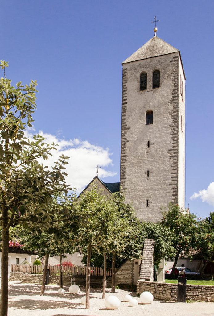 Campanile della chiesa di San Candido