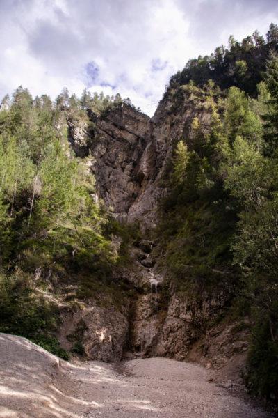 Cascata Prosciugata - Natura in Trentino Alto Adige