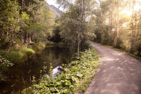 Fiume Drava - ciclabile Trentino Alto Adige