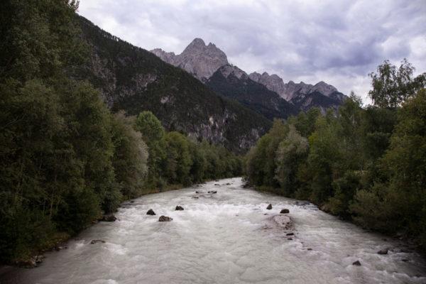 Fiume Drava e Montagne del Trentino Alto Adige