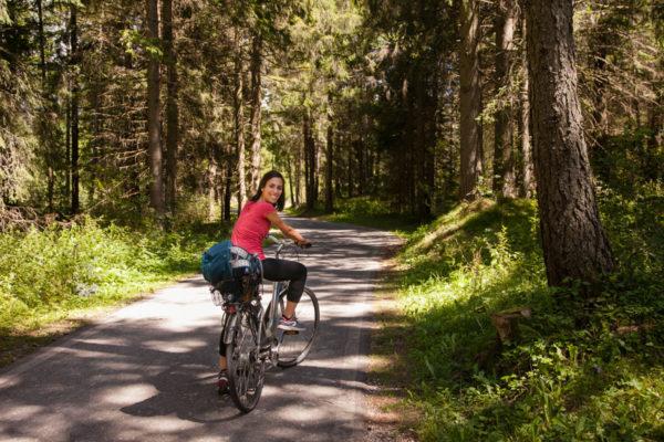 In bicicletta in Alta Val Pusteria