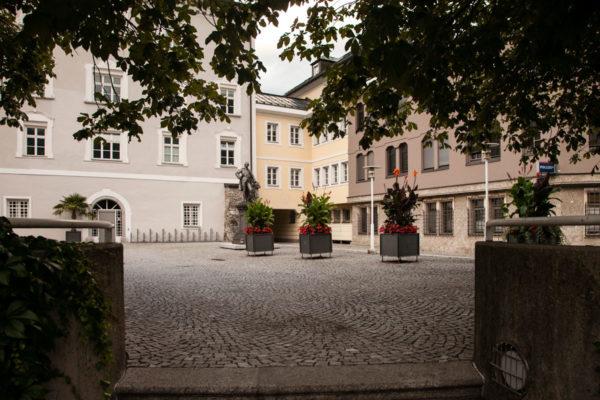 Lienz - Europaplatz e Statua di Josef II