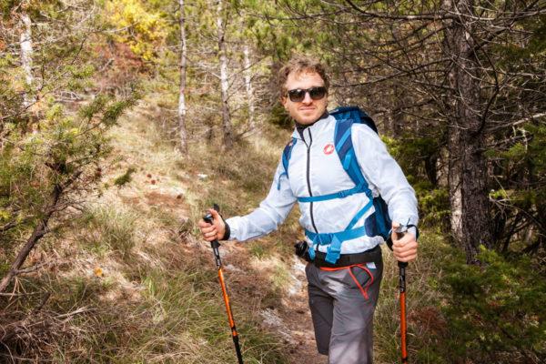 Martino - Ragazzo che fa trekking