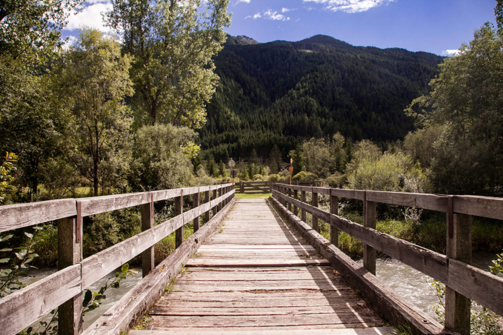 Ponte di Legno nella biciclettata Dobbiaco Lienz - 50 km adatti a tutti