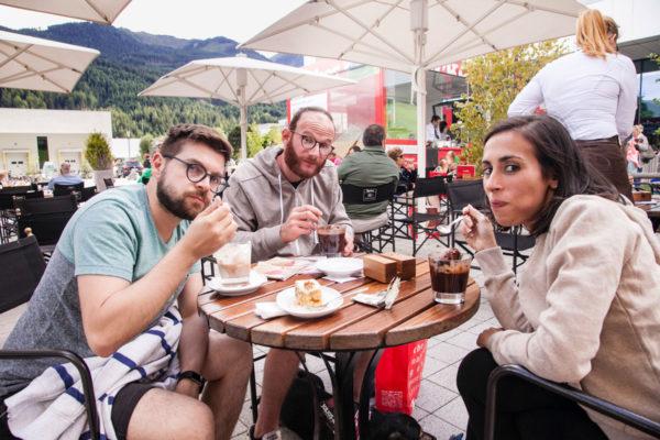 Relax al bar Loacker - Pausa con Gelato