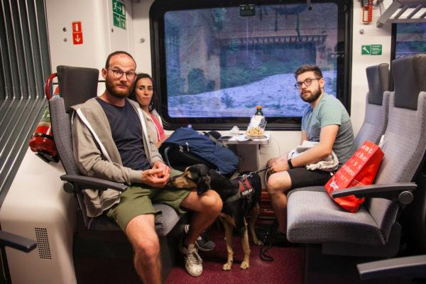 Ritorno in Treno ciclabile San Candido Lienz - Fino a Dobbiaco