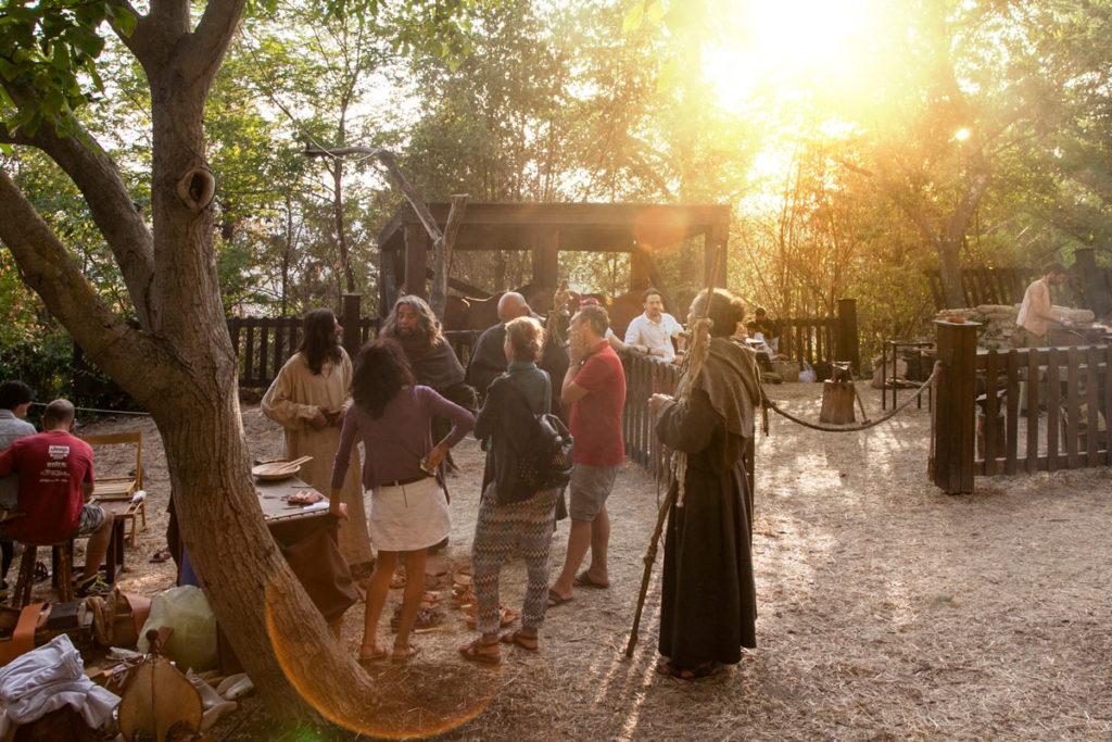 Tramonto sull'Accampamento Medievale di Mondaino - Rievocazione Storica a Rimini
