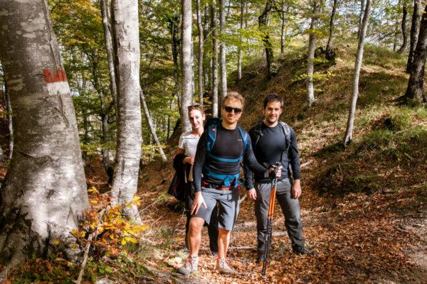 Trekking tra amici - Bagno di Romagna