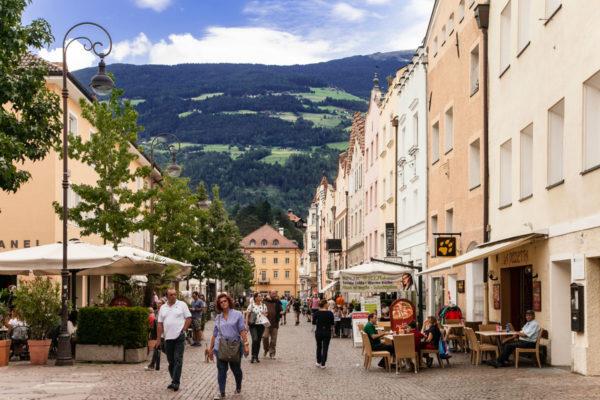 A passeggio per il centro storico di Brixen