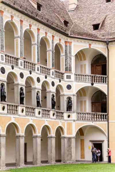 Archi e Portici del Palazzo Vescovile di Bressanone - Museo Diocesano