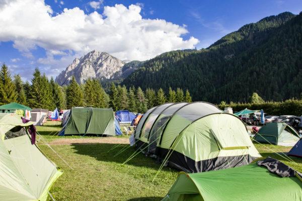 Camping Al Plan - Panorama San Vigilio di Marebbe