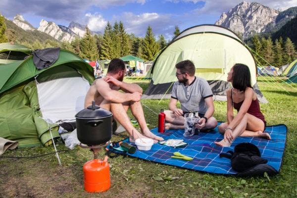 Cena in Campeggio - Trentino Alto Adige