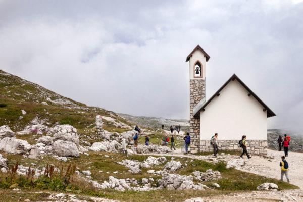 Chiesetta di Santa Maria Ausiliatrice - Tre Cime del Lavaredo