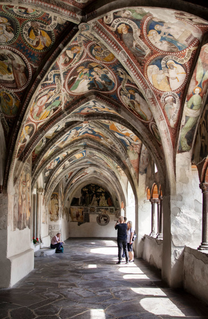 Chiostro del Duomo di Bressanone - Trentino Alto Adige
