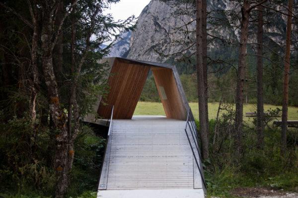 Costruzione in legno - Punto d Osservazione Tre Cime del Lavaredo