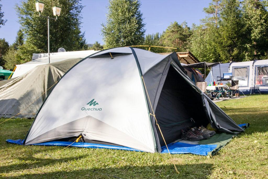 Dechatlon - Tenda Quick Hiker 3 Fresh and Black
