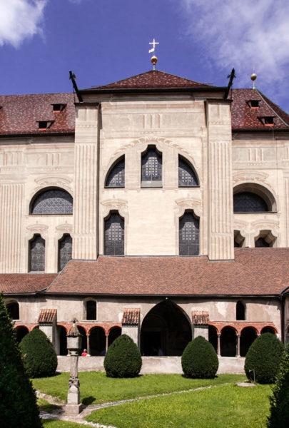Duomo di Bressanone dal suo Chiostro