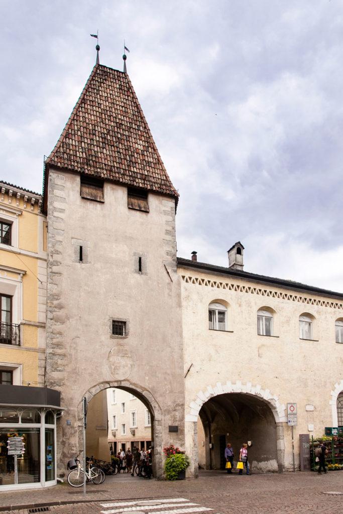 Ingresso a Bressanone da Porta Croce