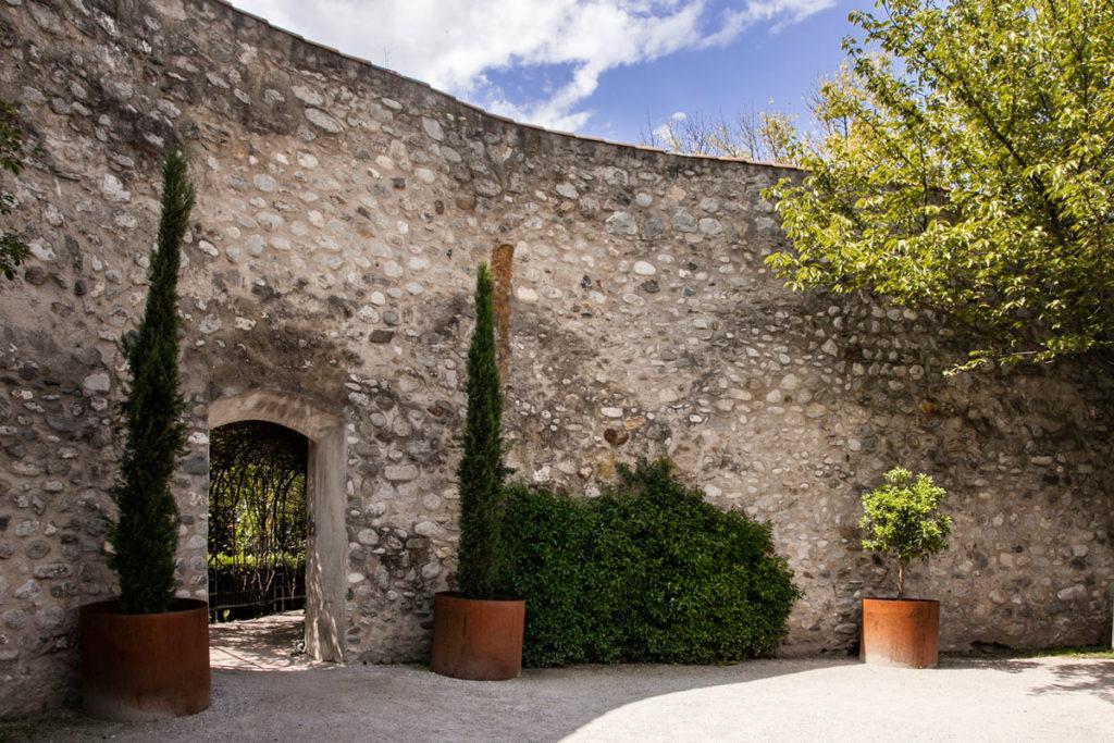 Ingresso ai giardini di Corte - Bressanone