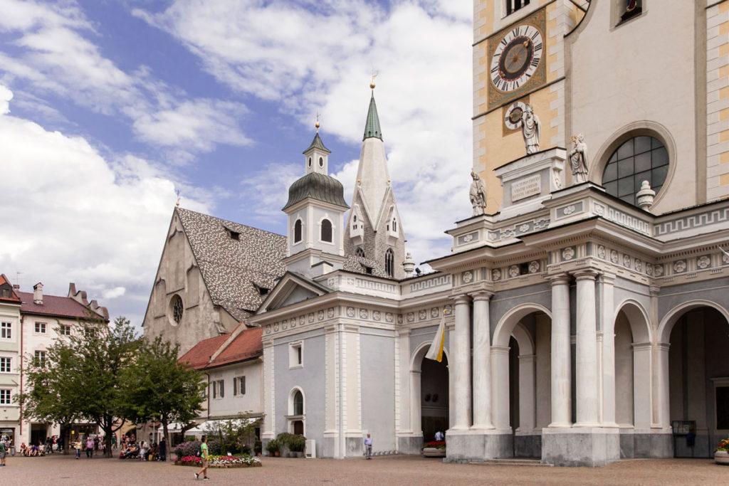Ingresso al Duomo di Bressanone