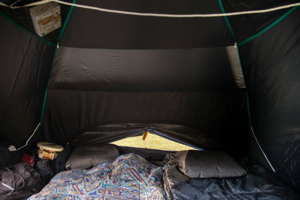 Interni Tenda QuickHiker Fresh And Black 3 posti