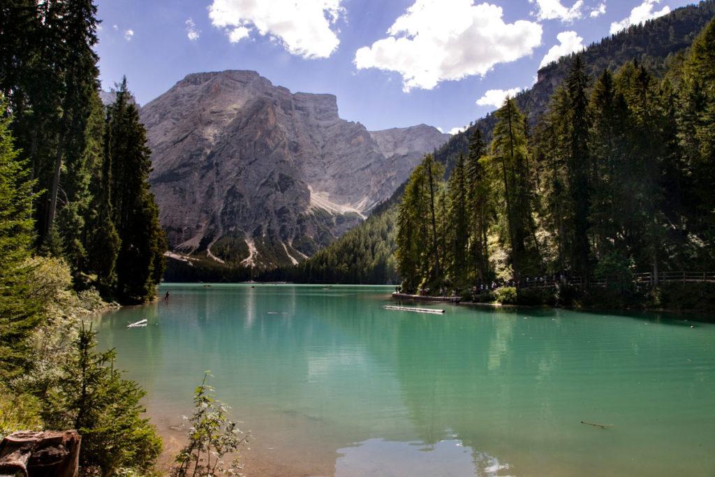 Lago di Braies - Croda del Becco - Dolomiti