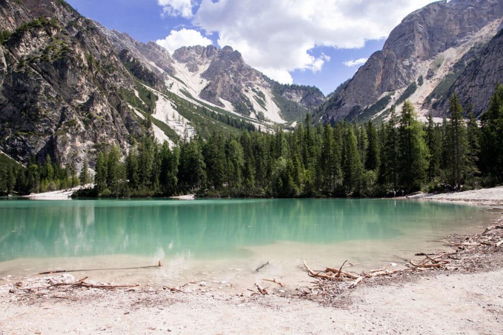 Lago di Braies nelle Dolomiti Trentine