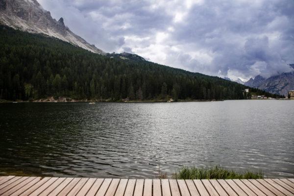 Lago di Misurina e Passerelle in Legno