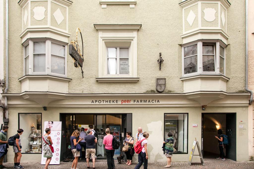 Museo della Farmacia di Bressanone - Ingresso